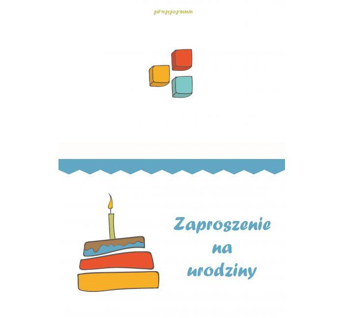 Zaproszenie Urodzinowe Do Wydruku