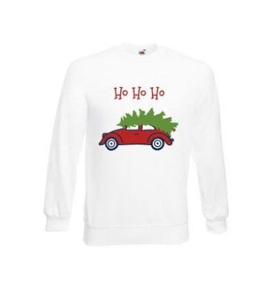 Bluza męska Choinka na samochodzie