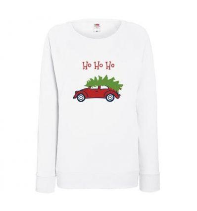Bluza damska Samochód z choinką