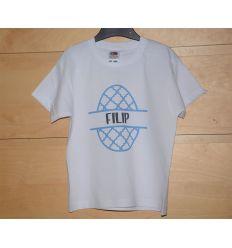 Koszulka dziecięca wielkanocna z imieniem