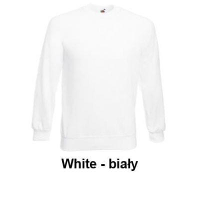 Bluza Raglan Sweat męska white