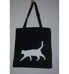 Torba z kroczącym kotem