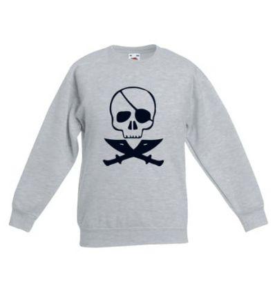 Bluza dziecięca Czaszka Pirata