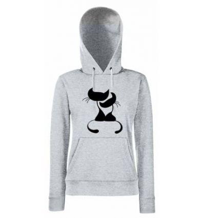 Bluza damska Romantyczne kotki