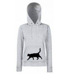 Bluza damska Kroczący kot