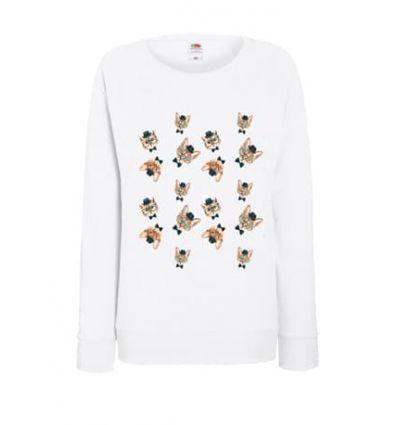 Lekka bluza damska Mix kotków