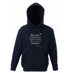 Bluza dziecięca z kapturem Success