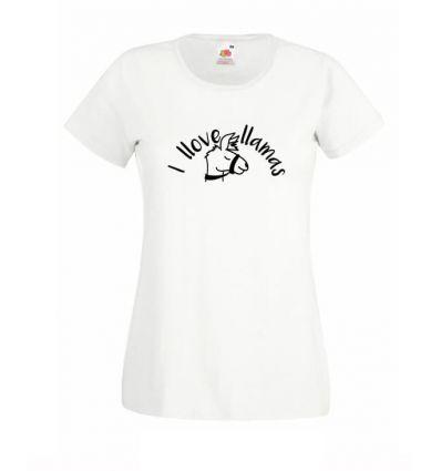 Koszulka I llove llamas