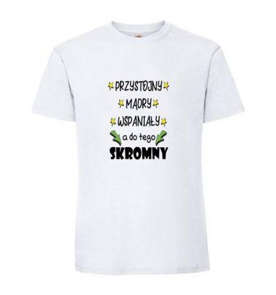 Koszulka Przystojny Mądry Wspaniały