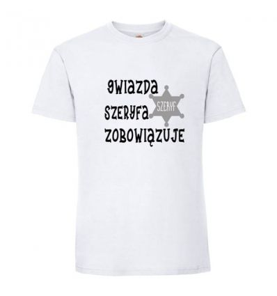 Koszulka Gwiazda Szeryfa Zobowiązuje