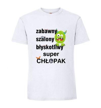 Koszulka Zabawny Szalony Błyskotliwy
