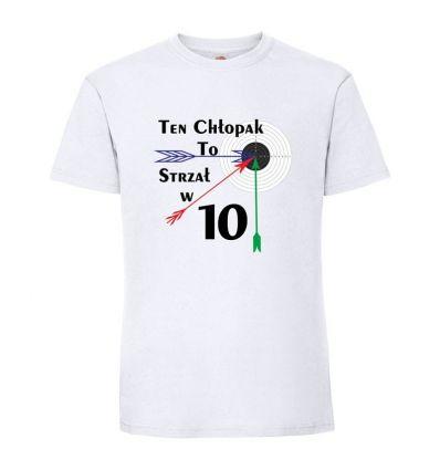 Koszulka Ten chłopak to strzał w dziesiątkę