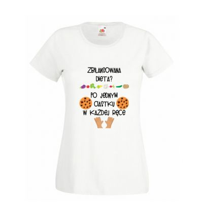 Koszulka Zbilansowana dieta