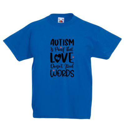Koszulka Autyzm miłość