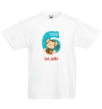 Koszulka sześć i Małpka Fiku Miku