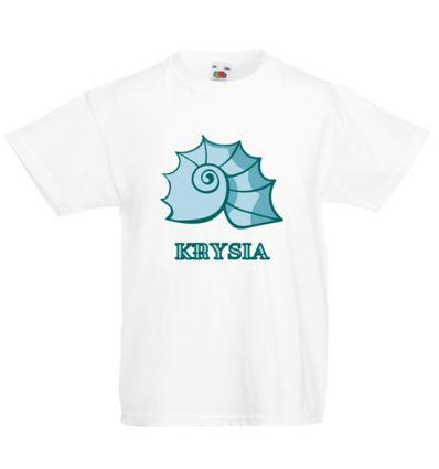 Koszulka Muszla z imieniem