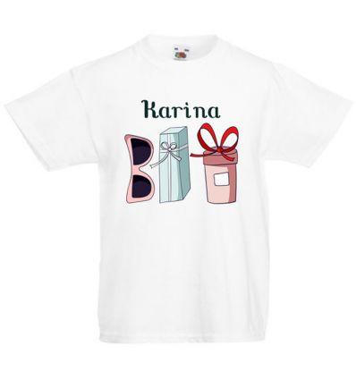 Koszulka dziecięca z imieniem Zakupy