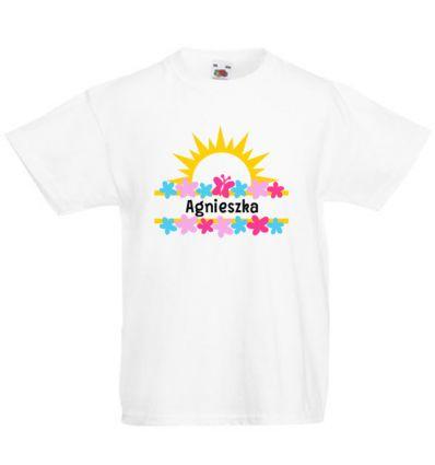 Koszulka dziecięca z imieniem