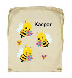 Workoplecak Pszczółki z imieniem