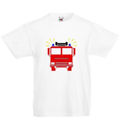 Koszulka dziecięca Straż pożarna
