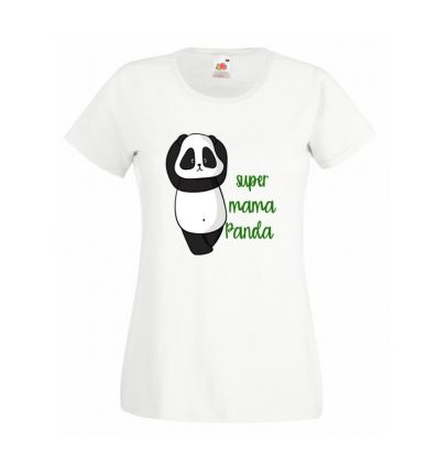 Koszulka super mama Panda
