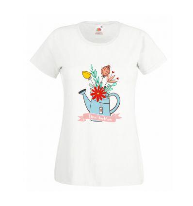 Koszulka Bukiet w konewce dla Mamy