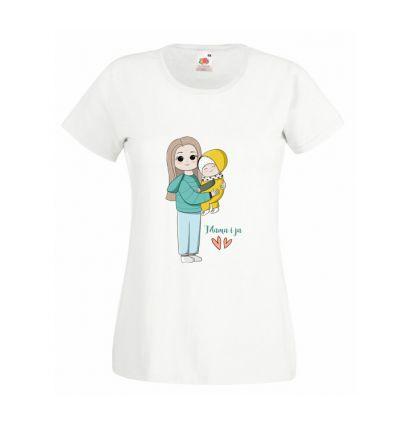 Koszulka Mama z dzieckiem
