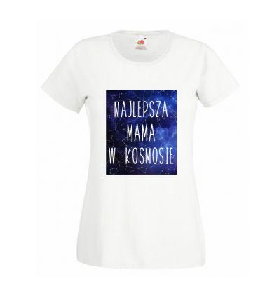 Koszulka Najlepsza mama w kosmosie