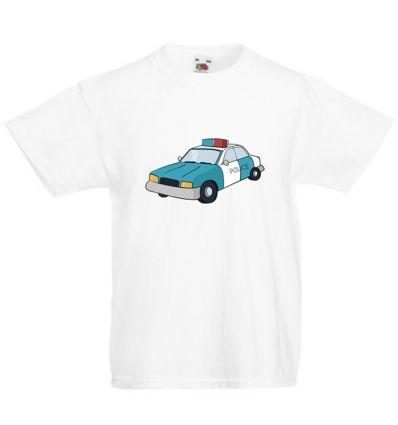 Koszulka dziecięca Radiowóz