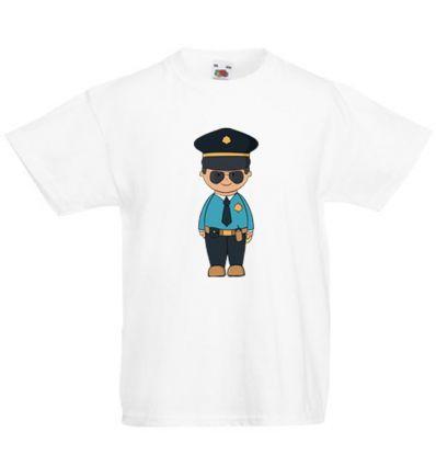 Koszulka dziecięca Policjant w okularach