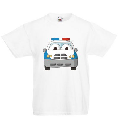 Koszulka dziecięca Radiowóz policyjny