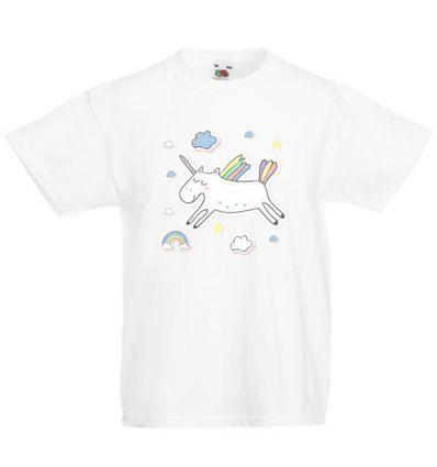 Koszulka dziecięca Skaczący Jednorożec