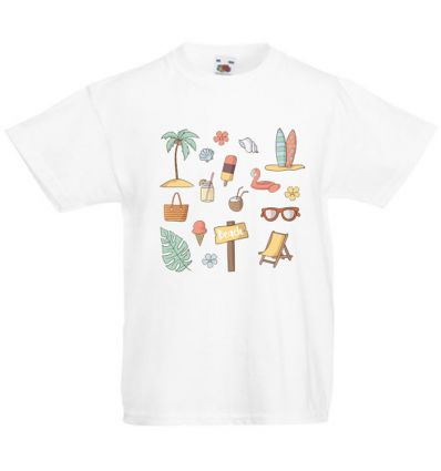 Koszulka dziecięca On the beach