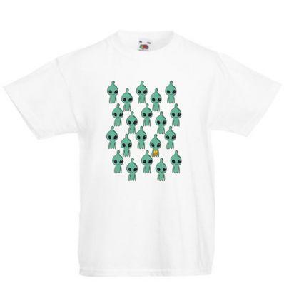 Koszulka dziecięca Kosmici