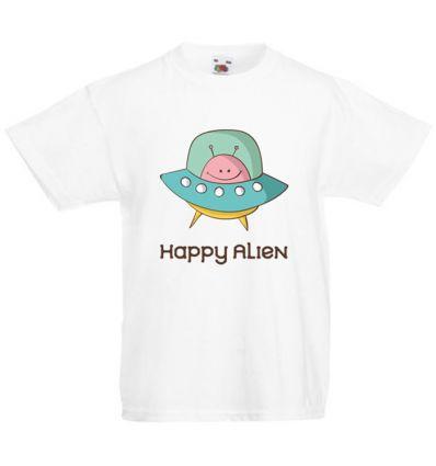 Koszulka dziecięca Happy Alien