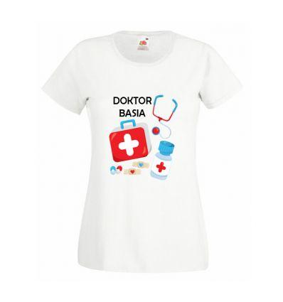 Koszulka Pani doktor z imieniem