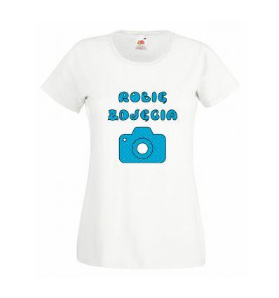 Koszulka Robię zdjęcia
