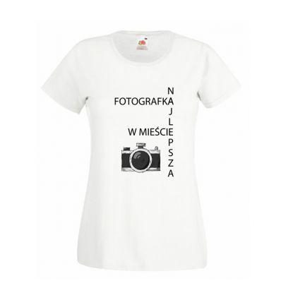 Koszulka Najlepsza Fotografka w mieście