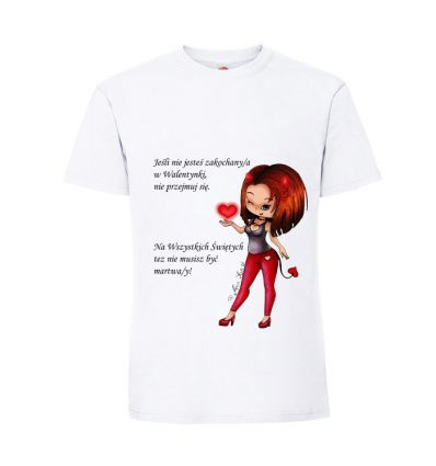 Koszulka Diablica z tekstem