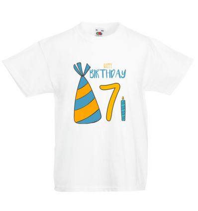 Koszulka Happy Birthday 7