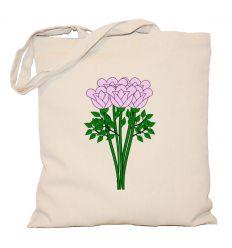 Torba bukiet kwiatów liliowy