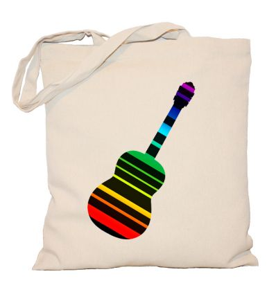 Torba Gitara w paski