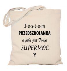 Torba Przedszkolanka supermoc