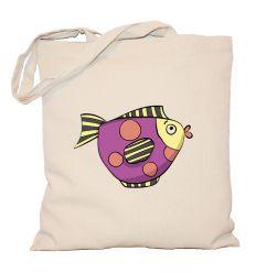 Torba Fioletowa Ryba