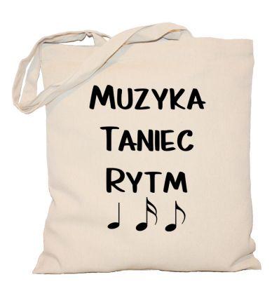 Torba Muzyka taniec rytm