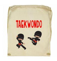 Workoplecak Taekwondo z ninja
