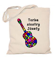 Torba z gitarą siostry Józefy