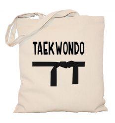 Torba Taekwondo z czarnym pasem