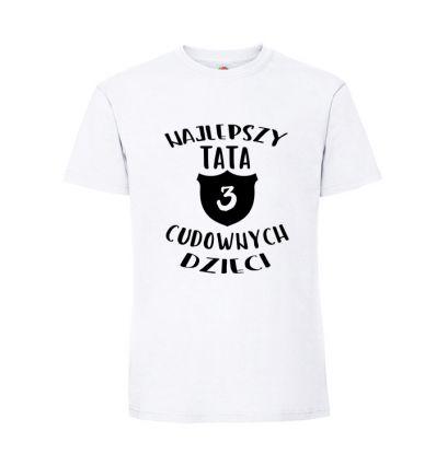 Koszulka Najlepszy tata cudownych dzieci
