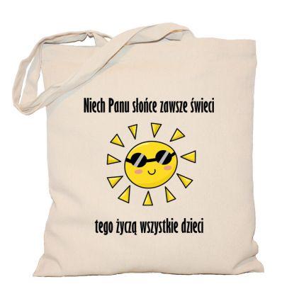 Torba Niech Pani słońce świeci